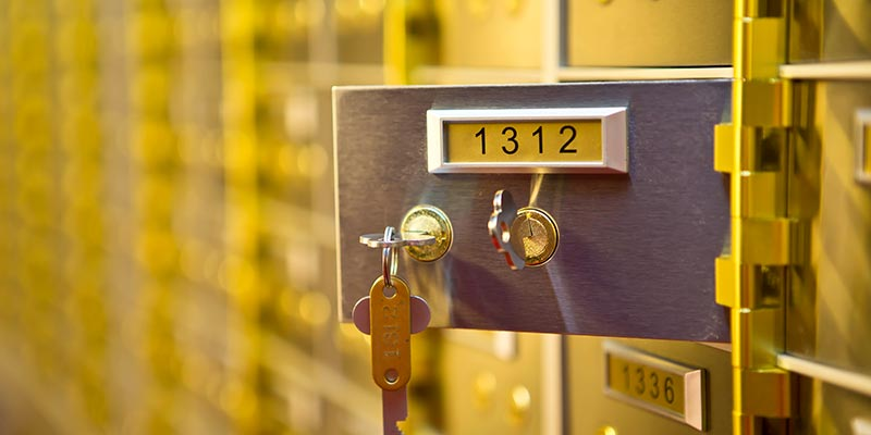 Safety Deposit Boxes Lincoln